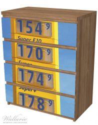 Möbelfolie Benzinpreistafel – Bild 6