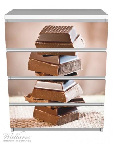 m belfolie schokoladenst ckchen ikea m belfolien malm 4 schubladen k che. Black Bedroom Furniture Sets. Home Design Ideas