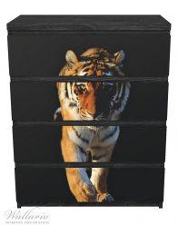 Möbelfolie Laufender Tiger – Bild 1