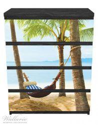Möbelfolie Hängematte in der Karibik – Bild 1