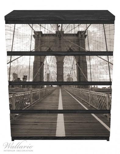 Möbelfolie Brooklyn Bridge in New York – Bild 1