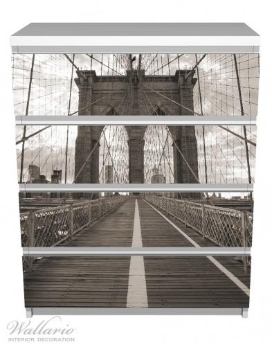 Möbelfolie Brooklyn Bridge in New York – Bild 2