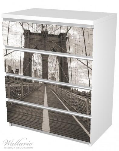 Möbelfolie Brooklyn Bridge in New York – Bild 5
