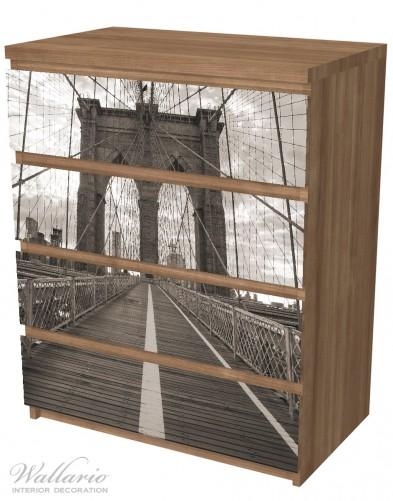 Möbelfolie Brooklyn Bridge in New York – Bild 6