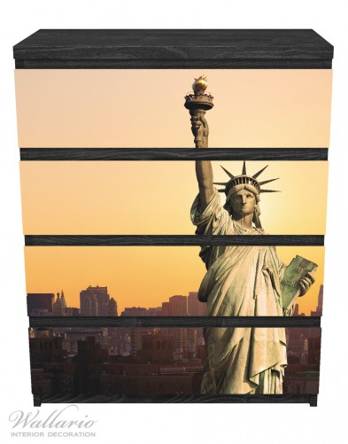 Möbelfolie Freiheitsstatue New York – Bild 1