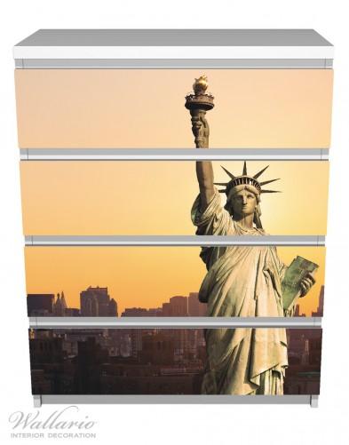 Möbelfolie Freiheitsstatue New York – Bild 2