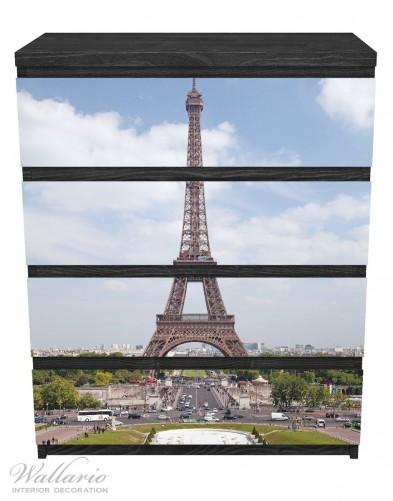 Möbelfolie Eiffelturm in Paris – Bild 1