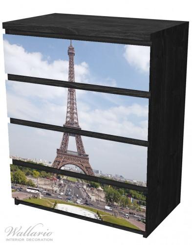 Möbelfolie Eiffelturm in Paris – Bild 4
