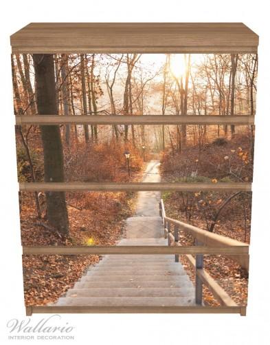 Möbelfolie Weg in den Sonnenuntergang – Bild 3