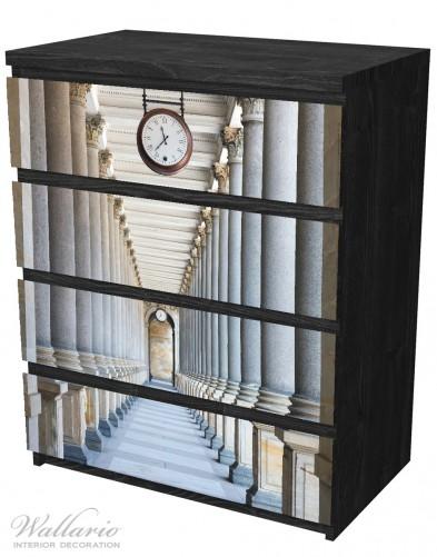 Möbelfolie Säulengang – Bild 4