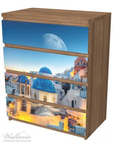 Möbelfolie Urlaub auf Santorini – Bild 6
