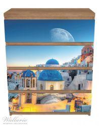 Möbelfolie Urlaub auf Santorini – Bild 3