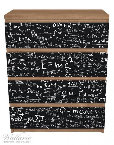 Möbelfolie Mathematische Formeln – Relativitätstheorie – Bild 3