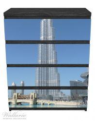 Möbelfolie Wolkenkratzer in Dubai – Bild 1