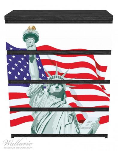 Möbelfolie Freiheitsstatue USA – Bild 1