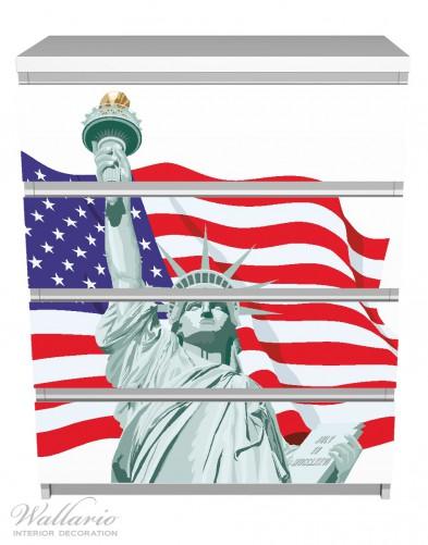 Möbelfolie Freiheitsstatue USA – Bild 2