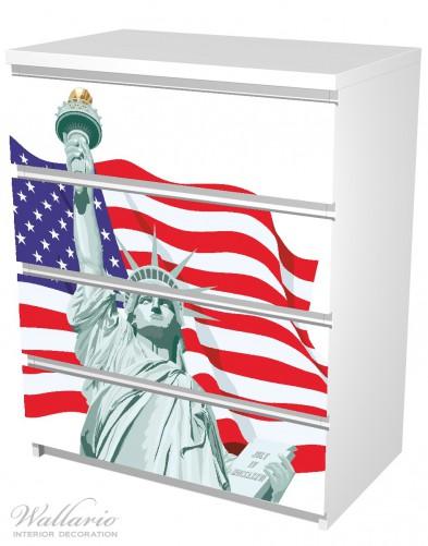Möbelfolie Freiheitsstatue USA – Bild 5