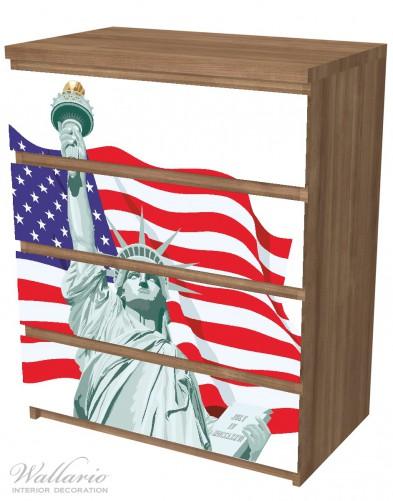 Möbelfolie Freiheitsstatue USA – Bild 6