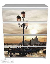 Möbelfolie Venedig - Lagune bei Sonnenuntergang – Bild 2