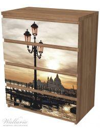 Möbelfolie Venedig - Lagune bei Sonnenuntergang – Bild 6