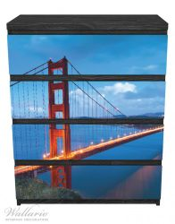 Möbelfolie Golden Gate Bridge in San Francisco, USA – Bild 1