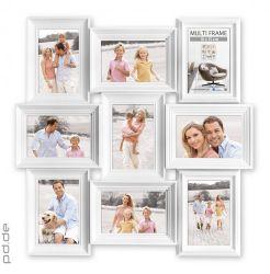Fotorahmen Collage weiß für 9 Fotos