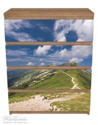 Möbelfolie Alpenluft – Bild 3