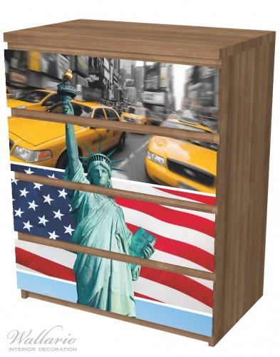 Möbelfolie New York Collage – Bild 6