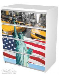 Möbelfolie New York Collage – Bild 5