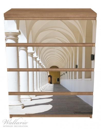 Möbelfolie Gewölbegang – Bild 3