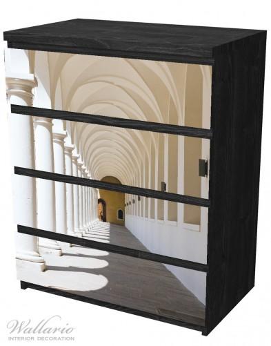 Möbelfolie Gewölbegang – Bild 4