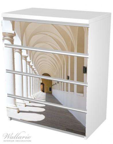 Möbelfolie Gewölbegang – Bild 5