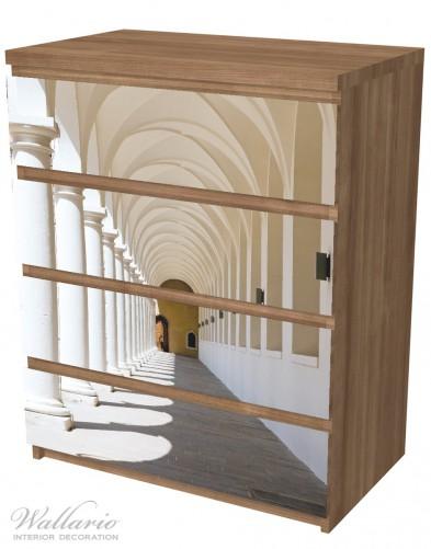 Möbelfolie Gewölbegang – Bild 6