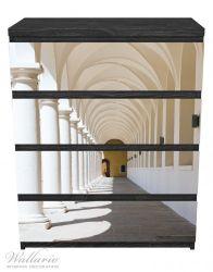 Möbelfolie Gewölbegang – Bild 1