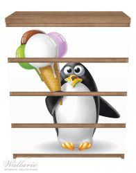 Möbelfolie Süßer Eis Pinguin – Bild 3
