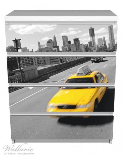Möbelfolie New York Yellow Taxi II – Bild 2