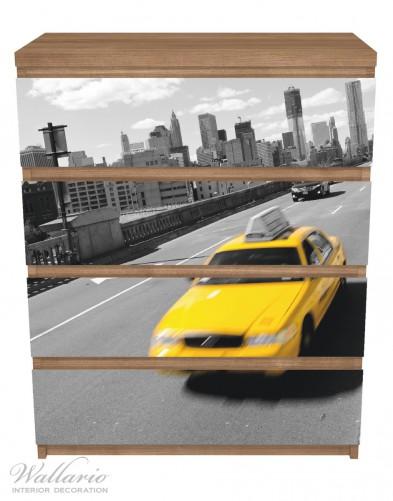 Möbelfolie New York Yellow Taxi II – Bild 3