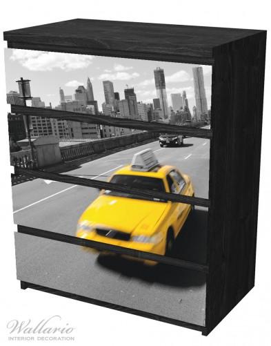 Möbelfolie New York Yellow Taxi II – Bild 4
