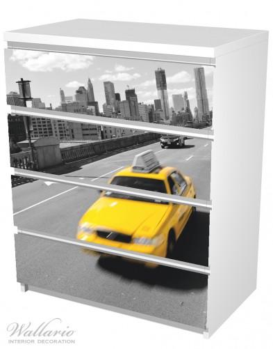 Möbelfolie New York Yellow Taxi II – Bild 5