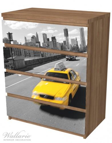 Möbelfolie New York Yellow Taxi II – Bild 6