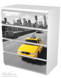 Möbelfolie New York Yellow Taxi II – Bild 5