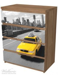Möbelfolie New York Yellow Taxi II – Bild 6
