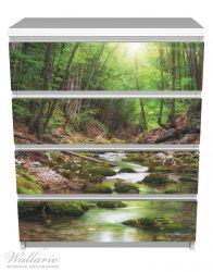 Möbelfolie Fluss im Wald – Bild 2