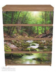 Möbelfolie Fluss im Wald – Bild 3