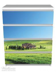 Möbelfolie Farm in der Toskana – Bild 2