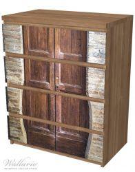 Möbelfolie Holztür braun – Bild 6