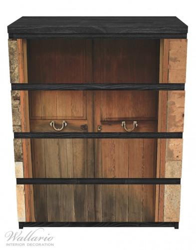 Möbelfolie Holztür natur – Bild 1