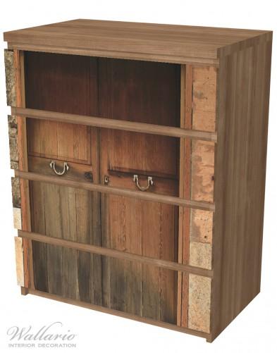 Möbelfolie Holztür natur – Bild 6