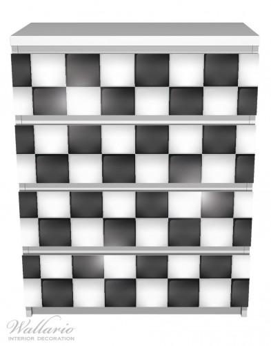 Möbelfolie Schachbrett Muster – Bild 2