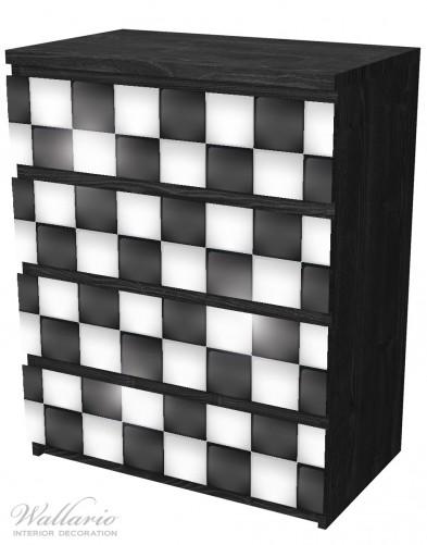 Möbelfolie Schachbrett Muster – Bild 4
